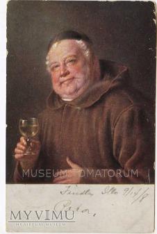 Monk Friar Mönch capucin zakonnik - degustacja 4