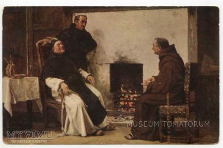 Miła rozmowa - zakonnik