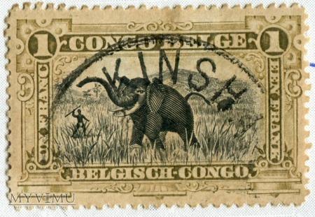 Kongo Belgijskie Congo Belge nr 70 Michel nr 31