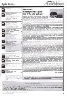 SAT AUDIO VIDEO 1994 rok, cz.II