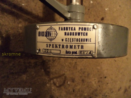 spektrometr-pomoc naukowa