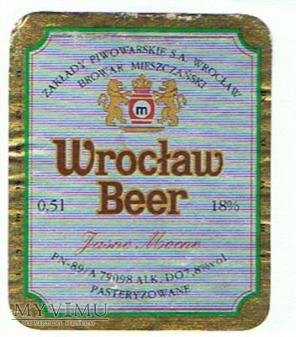 wrocław beer jasne mocne