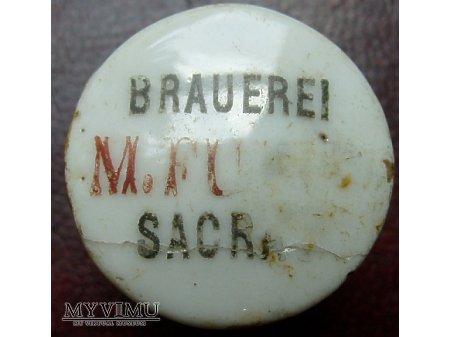 Brauerei M.Fulde Sacrau - Breslau