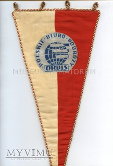 "Proporczyk P.B.P ""Orbis"" - lata 1960-1970"