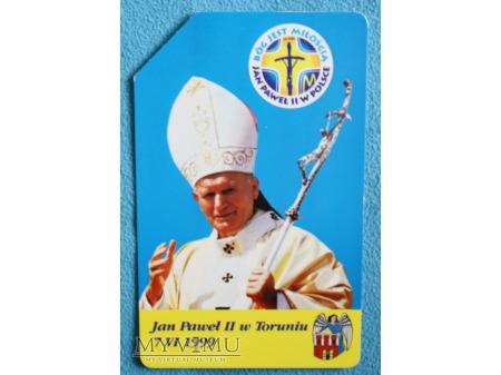 Jan Paweł II w Toruniu 7 VI 1999