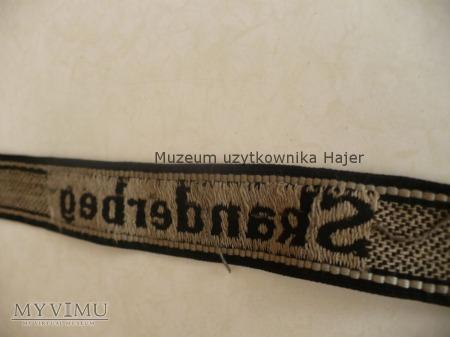 Opaska z rękawa żołnierza WWII Albania