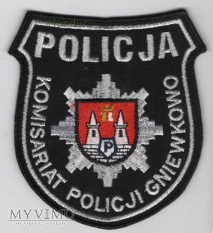 Oznaka KOMISARIAT POLICJI GNIEWKOWO