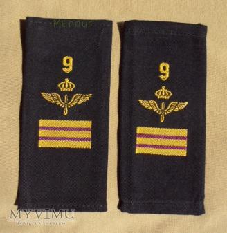 Szwecja - oznaka stopnia flygvapnet: st. kapral