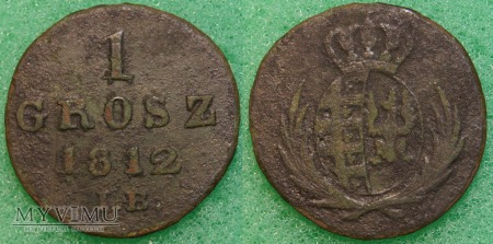 1812, grosz
