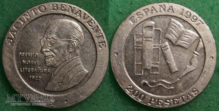 Hiszpania, 200 PESETAS 1997