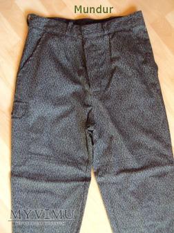 Mundur koszarowy-bojowy strażacki; spodnie