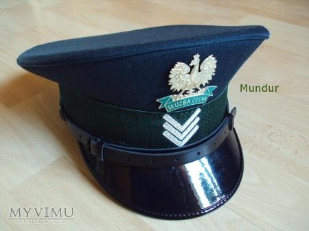 Czapka funkcjonariusza Służby Celnej