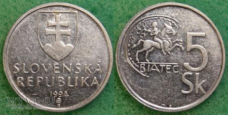 Słowacja, 5 Korún 1994