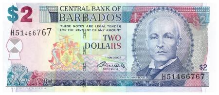 Barbados - 2 dolary (2007)