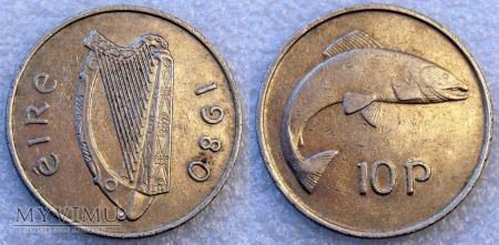 Irlandia, 10 Pingin 1980