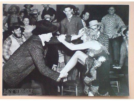 Duże zdjęcie Marlene Dietrich mokra i zdefryzowana 1939