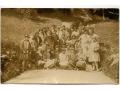 Ojców - żeńska wycieczka szkolna - 1928 rok