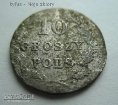 10 GROSZY - Powstanie Listopadowe (1831)