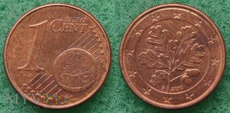 1 EURO CENT 2010 A
