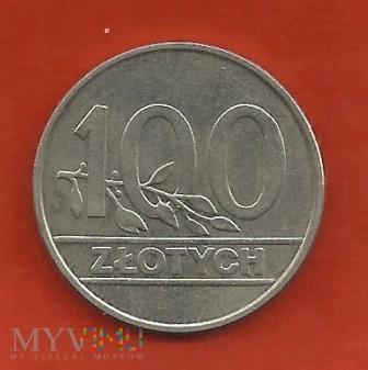 Polska 100 złotych, 1990