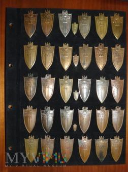 Odznaki Grunwaldzkie - z bliska