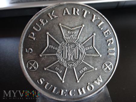 Duże zdjęcie Artyleria Bóg Wojny - Medal 5 Pułku Artylerii
