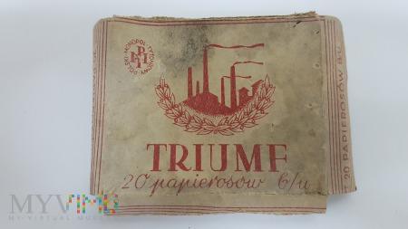 Papierosy TRIUMF 20 szt. 1938 r. PMT - opakowanie