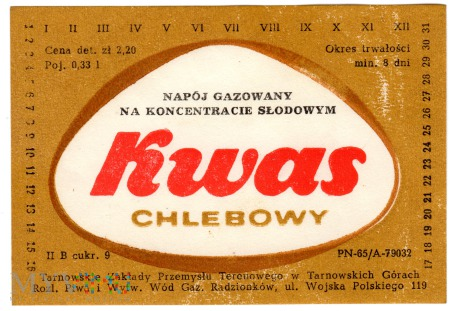 Kwas Chlebowy