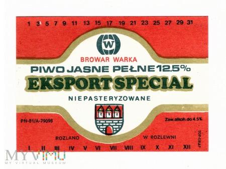 Warka export special