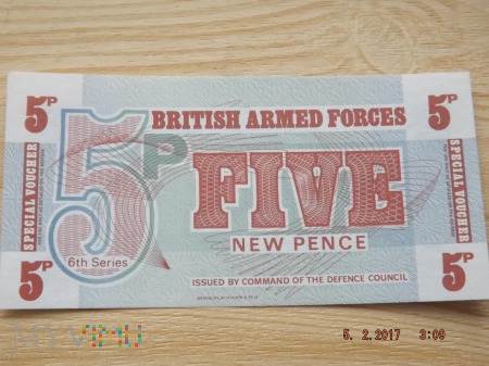 5 New Pence