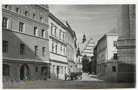 Lublin - ulica Złota - lata50/60