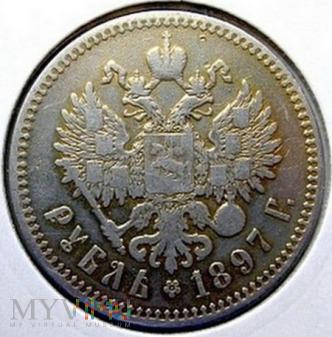 1 rubel 1897 r. Rosja
