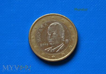 Moneta: 1 euro ESPANA 2011
