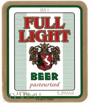 Full light beer