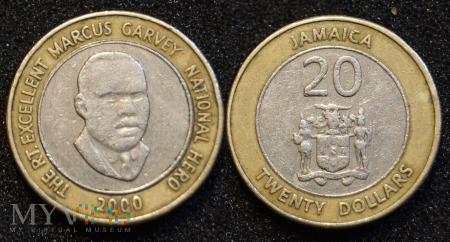 Jamajka, 20 Dolarów 2000