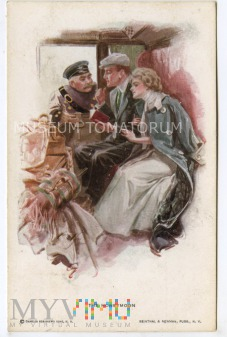 W wagonie - Podróż poślubna