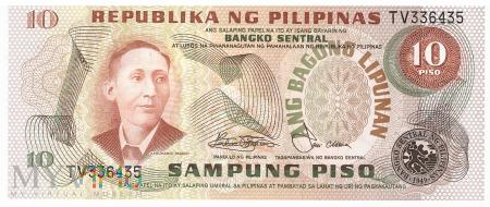 Filipiny - 10 pesos (1978)