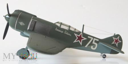 Samolot myśliwski Ła-5FN (model 1/72)