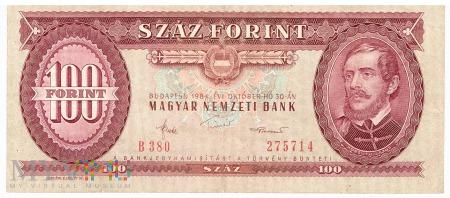 Węgry - 100 forintów (1984)