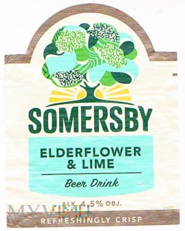 somersby elderflower & lime