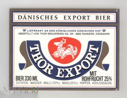 Dania, Thor Export