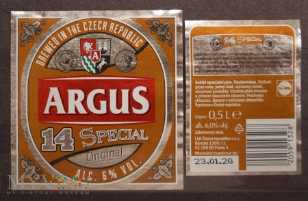 Argus, 14 Special