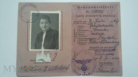 Postausweiskarte