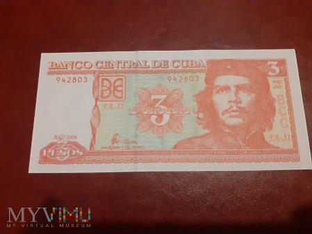 Kuba 3 pesos 2004