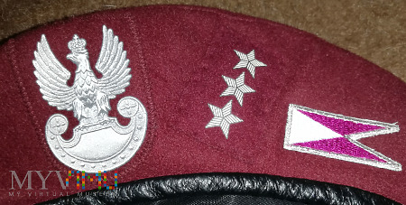 Beret chor. szt. 7. Dywizjonu Ułanów Lubelskich