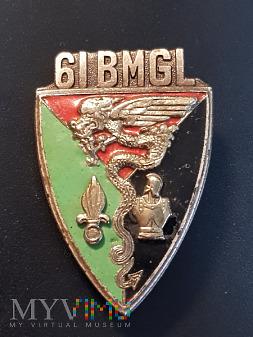 Odznaka 61 Batalionu Legii Inżynierii Mieszanej