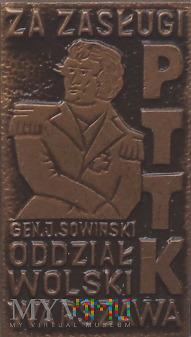 Odznaka Honorowa Oddziału Wolskiego PTTK