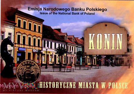 Konin - Głowa konia z monetą NBP z 2008