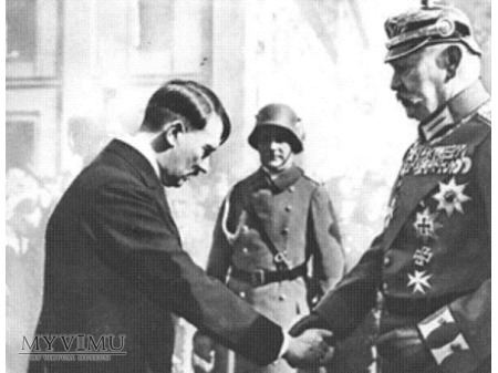 KOŚCIÓŁ GARNIZONOWY POTSDAM - 21.03.1933 - 5 RM