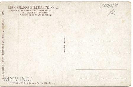 Bocklin - Centaur u kowala - I ćw. XX wieku